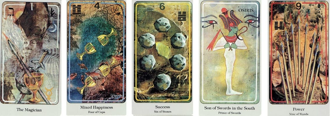 The Haindl Tarot cards