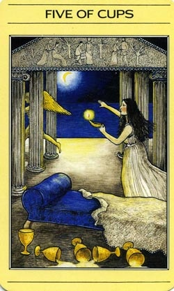 5 of Cups Mythic Tarot
