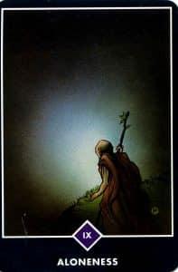 Aloneness Osho Zen Tarot
