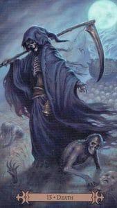 Death Spellcaster Tarot