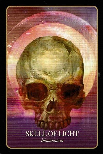 Halloween Oracle Skull Of Light