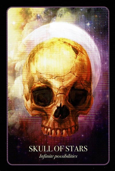 Halloween Oracle Skull Of Stars
