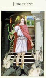 Judgment Mythic Tarot