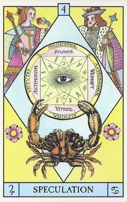 Jupiter in Cancer Speculation tarot card