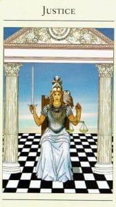 Justice Mythic Tarot