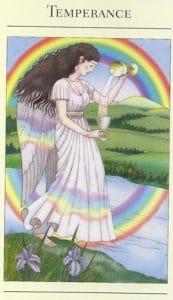 Temperance Mythic Tarot