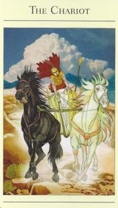 The Chariot Mythic Tarot