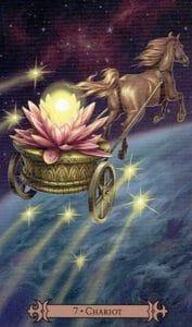 The Chariot Spellcaster Tarot