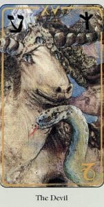 The Devil Haindl Tarot