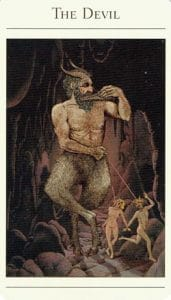 The Devil Mythic Tarot