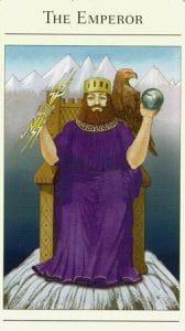 The Emperor Mythic Tarot