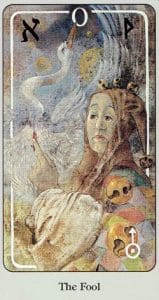 The Fool Haindl Tarot