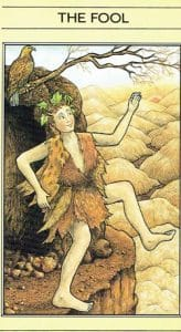 The Fool Mythic Tarot