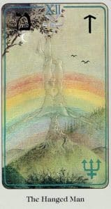 The Hanged Man Haindl Tarot