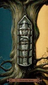 The Hanged Man Spellcaster Tarot