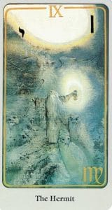 The Hermit Haindl Tarot