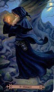 The Hermit Spellcaster Tarot