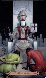 The Hierophant Spellcaster Tarot
