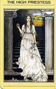 The High Priestess Mythic Tarot