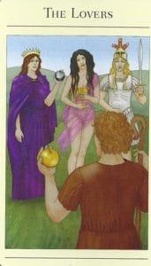The Lovers Mythic Tarot