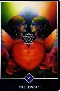 The Lovers Osho Zen Tarot