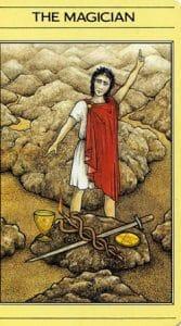 The Magician Mythic Tarot