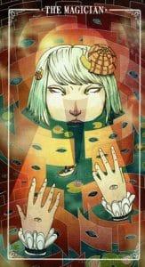 The Magician Ostara Tarot