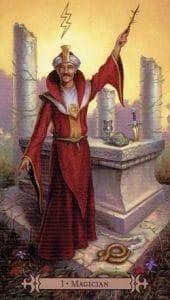 The Magician Spellcaster Tarot