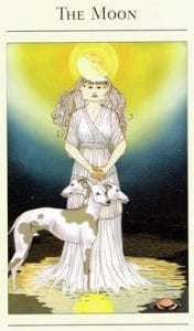 The Moon Mythic Tarot