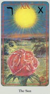 The Sun Haindl Tarot