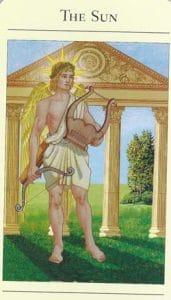 The Sun Mythic Tarot