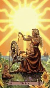 The Sun Spellcaster Tarot