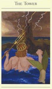 The Tower Mythic Tarot