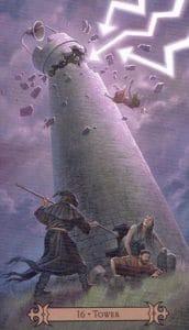 The Tower Spellcaster Tarot