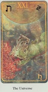 The Universe Haindl Tarot