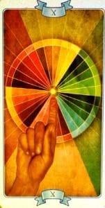 The Wheel of Fortune Law of Attraction Tarot