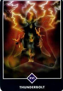 Thunderbolt Osho Zen Tarot