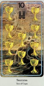 10 of Cups Haindl Tarot