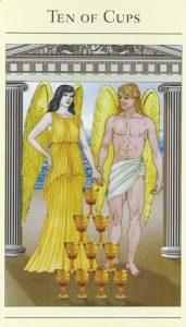 10 of Cups Mythic Tarot