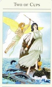 2 of Cups Mythic Tarot