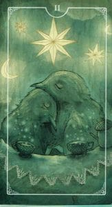 2 of Cups Ostara Tarot