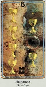 6 of Cups Haindl Tarot