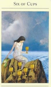 6 of Cups Mythic Tarot