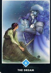 6 of Water The Dream Osho Zen Tarot