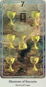 7 of Cups Haindl Tarot