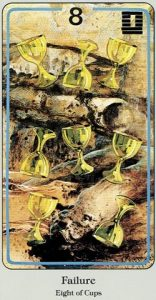 8 of Cups Haindl Tarot