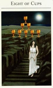 8 of Cups Mythic Tarot