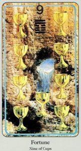9 of Cups Haindl Tarot