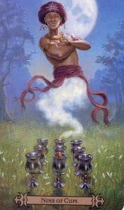 9 of Cups Spellcaster Tarot
