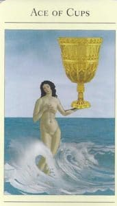 Ace of Cups Mythic Tarot